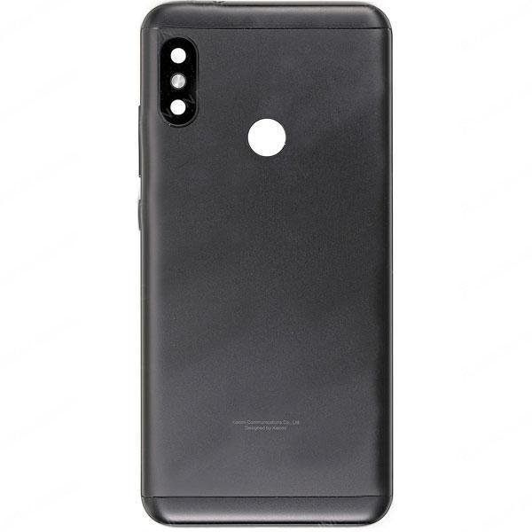 Задняя крышка Xiaomi Redmi Note 6 Pro, черная Оригинал