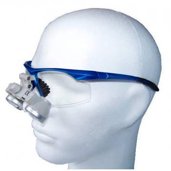 Бинокулярний увеличитель ECMG-2,5x-RD ErgonoptiX микро Галилея