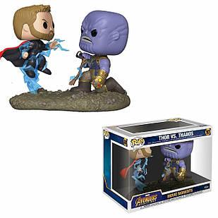 Набор фигурок Funko Pop Moments Фанко Поп Момент Танос против Тора Thor vs Thanos 15 см TT 707