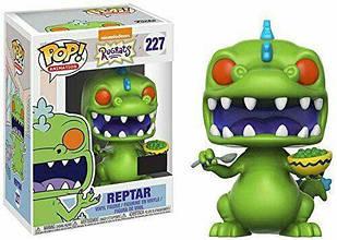 Фигурка Funko Pop Фанко Поп Неугомонные детки Рептар Rugrats Reptar With Cereal 10смcartoon R R227