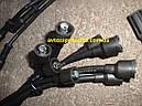 Провода зажигания Зил 130, Газ 53, 3307, силикон, 9 штук, комплект, чёрные (производитель Janmor, Польша), фото 3
