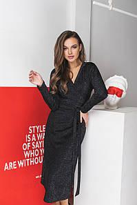 Платье LiLove 037 46 черный