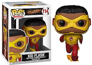 Фігурка Funko Pop Фанко Поп Флеш Воллі Уест The Flash Kid Flash 10 см F KF 714