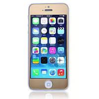 Защитное cтекло Remax для iPhone 5, iPhone 5S, iPhone 5SE Colorful Golden, 0.2mm, 9H