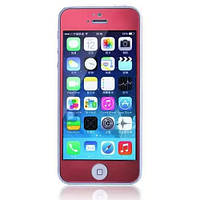 Защитное cтекло Remax для iPhone 5, iPhone 5S, iPhone 5SE Colorful Red, 0.2mm, 9H