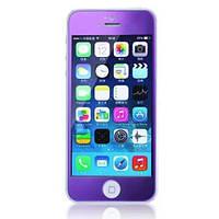 Защитное cтекло Remax для iPhone 5, iPhone 5S, iPhone 5SE Colorful Purple, 0.2mm, 9H
