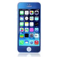 Защитное cтекло Remax для iPhone 5, iPhone 5S, iPhone 5SE Colorful Blue, 0.2mm, 9H