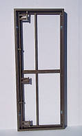 Люки-невидимки под плитку шириной 120 см (ДВУХДВЕРНЫЕ) распашные