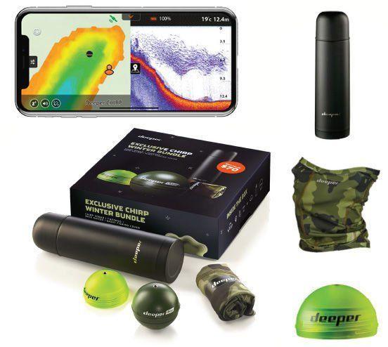 Эхолот Deeper CHIRP+ WiFi+GPS Winter bundle