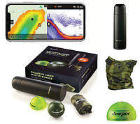 Эхолот Deeper CHIRP+ WiFi+GPS Winter bundle