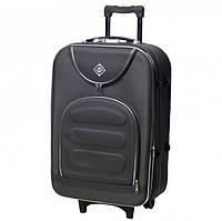 Дорожній валізу на колесах Bonro Lux Великий Сірий