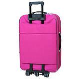 Дорожный чемодан на колесах Bonro Lux Розовый Большой, фото 2