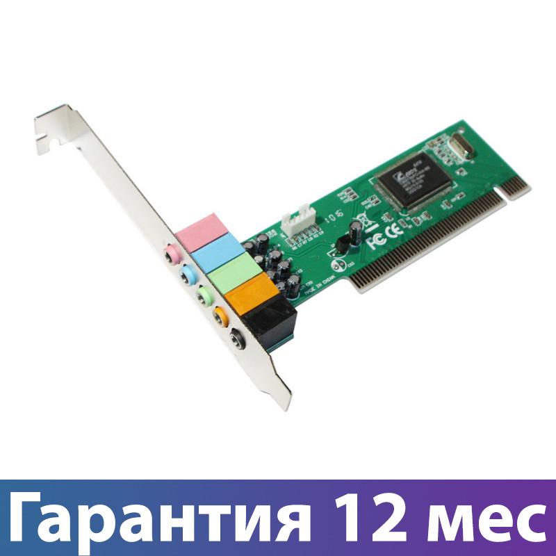 Звуковая карта внутренняя Manli, PCI, 32-bit, 6-Channels, аудиокарта для ПК