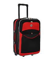 Дорожный чемодан на колесах Bonro Best Черно-красный Средний