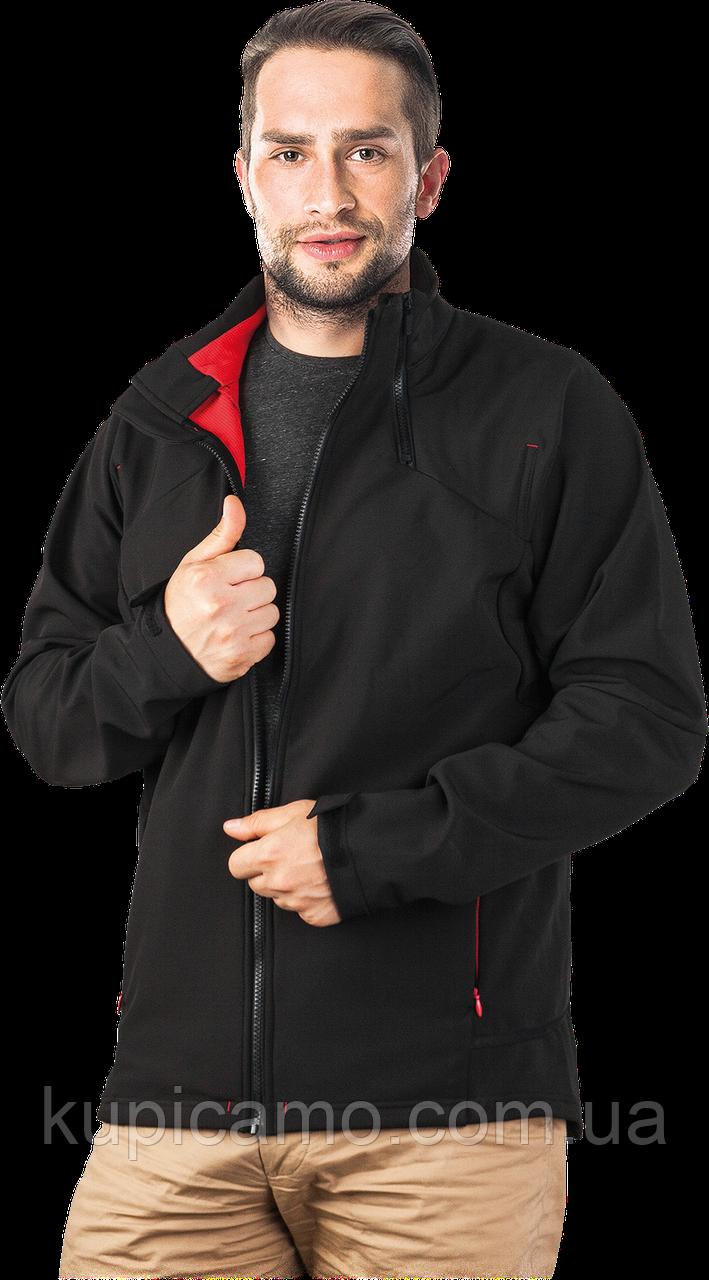 Защитная куртка из материала SOFTSHELL.