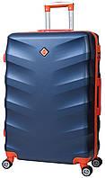 Дорожный чемодан на колесах Bonro Next Темно-синий Большой