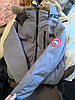 Серый короткий мужской зимний пуховик canada goose chilliwack bomber Канада Гус, фото 4