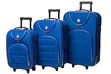Набор чемоданов на колесах Bonro Lux Sky blue 3 штуки