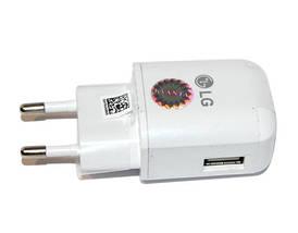 Зарядний пристрій LG Travel Adapter, White, 1xUSB, 9V / 1.8 A (MCS-H05ED), зарядка для телефону лш, фото 3