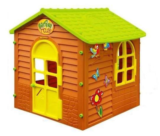 Большой детский игровой домик Mochtoys (игровой домик для улицы и дома)
