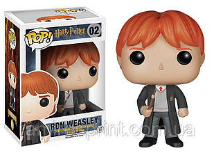 Фигурка Funko Pop Гарри Поттер Ron Weasley Harry Potter 10 см HP PW 02