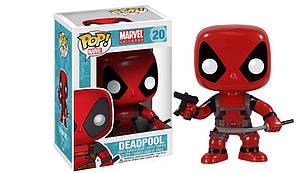 Фігурка Funko Pop Фанко Поп Marvel Deadpool Марвел Дэдпул 10 см DP20