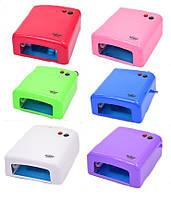 Ультрафиолетовая лампа для сушки ногтей Master 808 (MPL) 38 Вт для гель-лака, фото 1