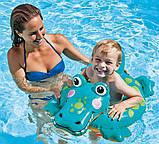 Круг надувной для плавания 58221 Зверюшки, фото 2