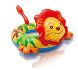 Круг надувной для плавания 58221 Зверюшки, фото 6