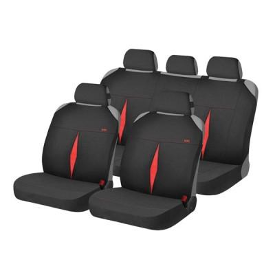 Накидки на автомобильные сидения Hadar Rosen KARAT Красный/Черный 22116_1