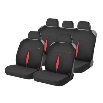 Накидки на автомобильные сидения Hadar Rosen KARAT Красный/Черный 22116_1, фото 2