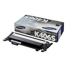 Картридж Samsung CLT-K406S, Black, CLP-360/365, CLX-3300/3305, ресурс 1500 листов, OEM, фото 2