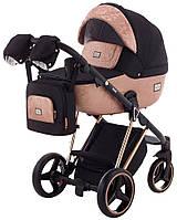 Детская коляска универсальная 2 в 1 Adamex Mimi Polar (Pink Gold) BR-604(Адамекс, Польша)
