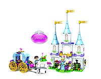 Конструктор JVToy Волшебный замок Золушки, серия Принцессы, дет.240,, 15009