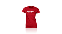 Футболка Scitec Nutrition T-Shirt Girl Scitec Red 2019