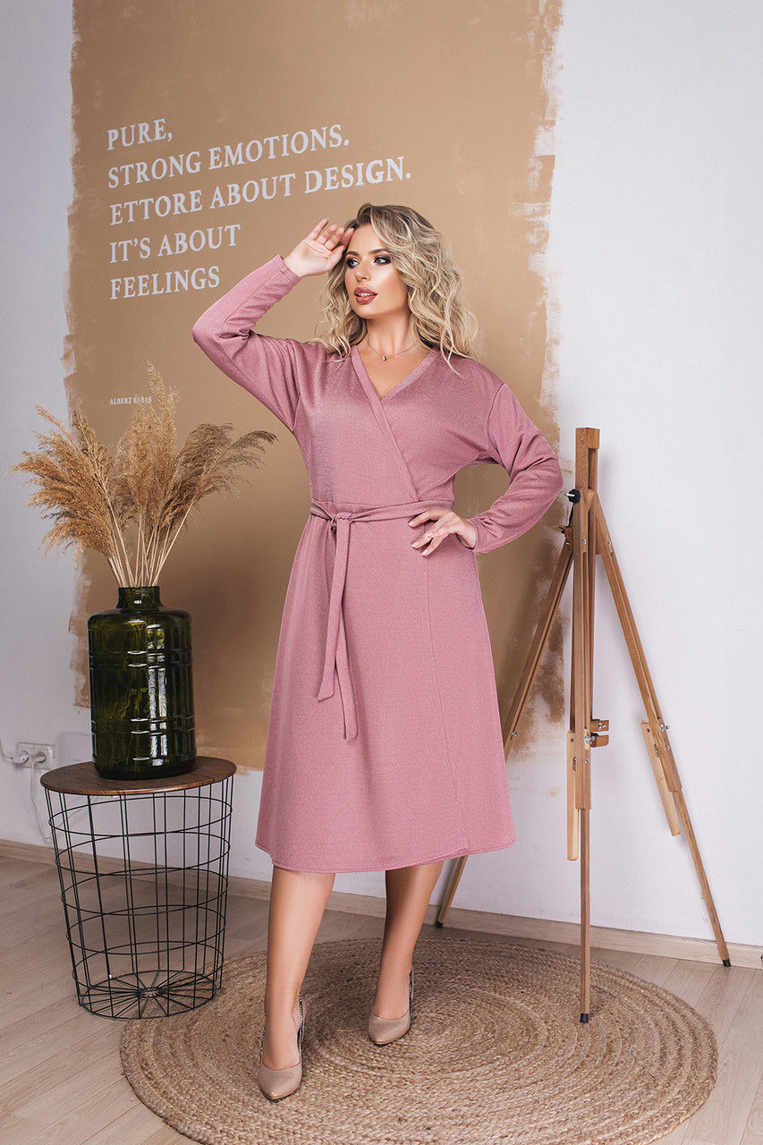 Платье LiLove 037-1 50 розовый