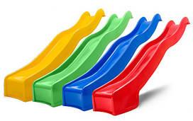 Дитяча ігрова гірка пластикова HAPRO 3м (гірка узвіз, гірка хвиля)