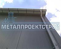 Сендвич-панель стеновая от 50мм базальтовая, минеральная, негорючая вата