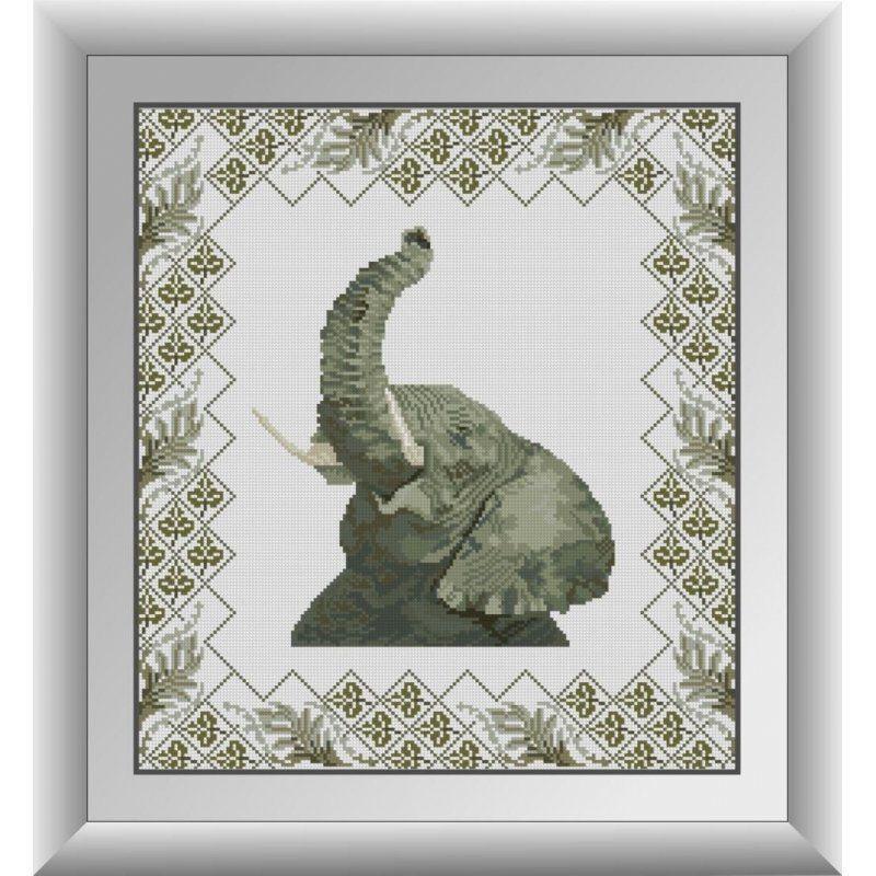 30711 Набор алмазной мозаики Сафари. Слон