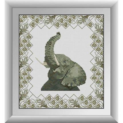 30711 Набор алмазной мозаики Сафари. Слон, фото 2
