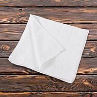Полотенце махровое белое 50х110 см (48204.001)