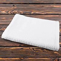 Полотенце махровое белое 80х146 см (48205.001)