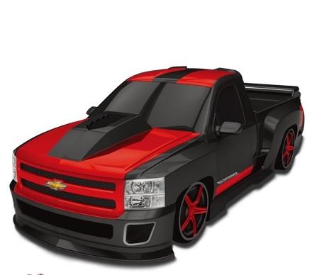 Автомобиль Chevy Silverado