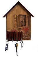 Ключница Home Vintage Окно - Стильная ключница выполнена из массива ольхи