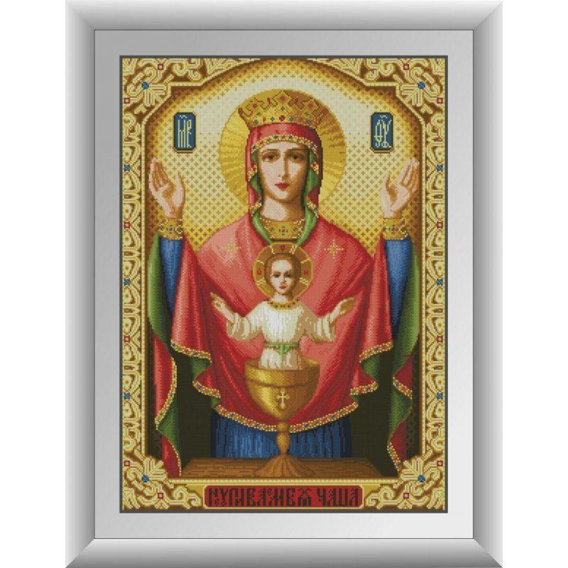 30725 Набор алмазной мозаики Икона Неупиваемая Чаша