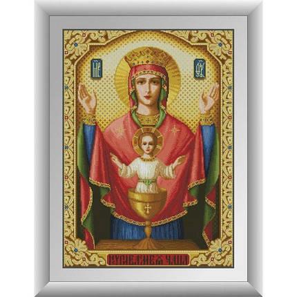 30725 Набор алмазной мозаики Икона Неупиваемая Чаша, фото 2