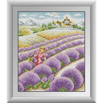 30745 Набор алмазной мозаики Девушка в лаванде, фото 2