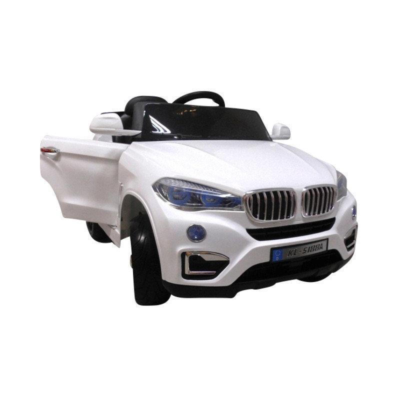 Детский электромобиль на аккумуляторе Cabrio B12 EVA с пультом управления МР3 Белый