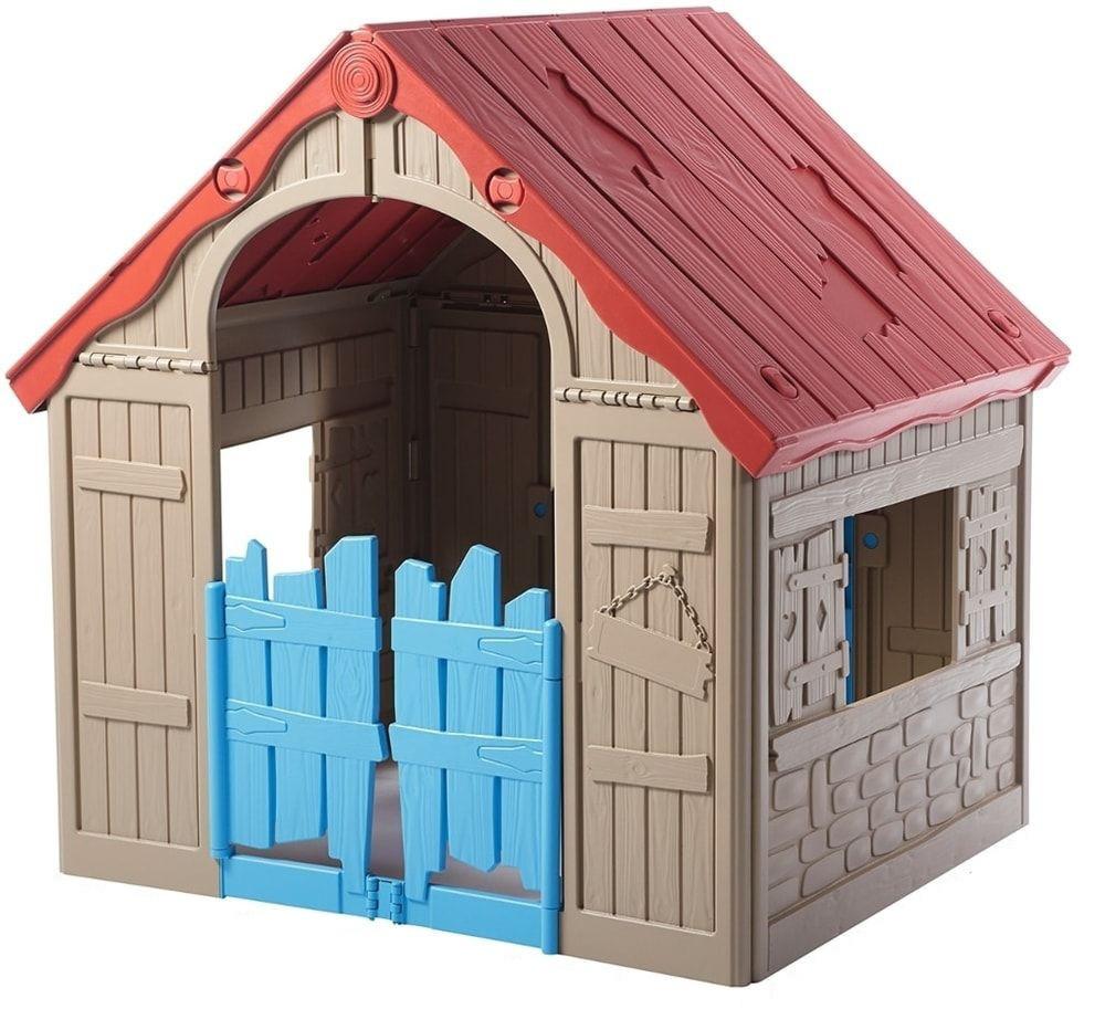 Детский игровой домик Keter  (игровой домик для улицы и дома)