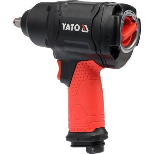 Гайковерт пневматичний YATO 1/2 YT-0953 ударний ручної 10000 об/хв